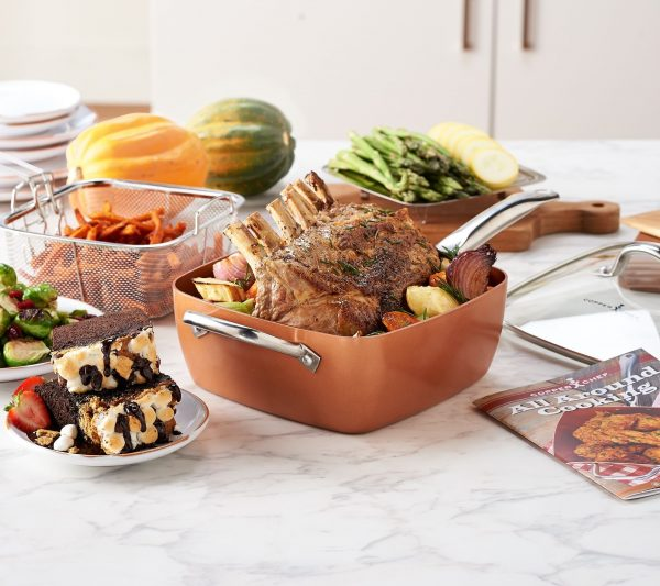 Copper Chef - bakrena tava za sve tipove štednjaka