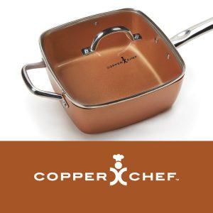 Copper Chef - bakrena tava za sve tipove štednjaka i pečnica